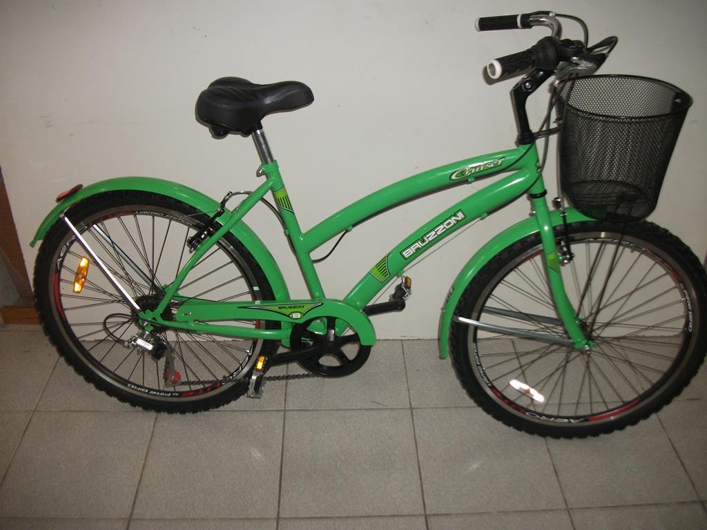 Bicicleta de Paseo Dama Bruzzoni Ciudad Rodado 26 6 Velocidades