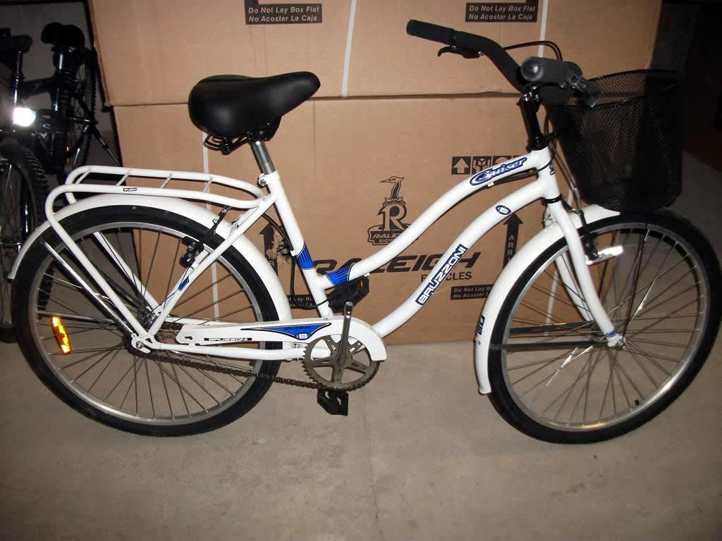 Bicicleta Paseo Dama Bruzzoni Primavera Rodado 26