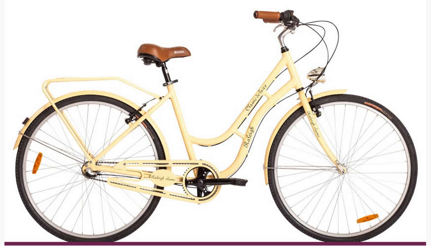 Bicicleta Raleigh Classic Rod 28 Dama Retro Vintage 3Vel Shimano Nexus