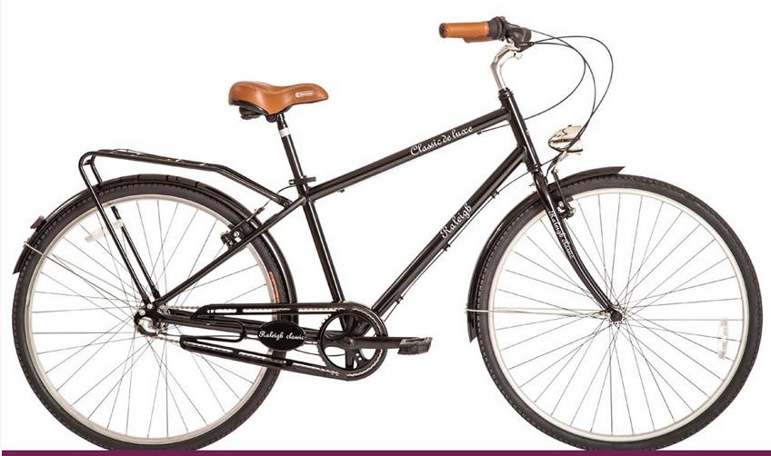 Bicicleta Raleigh Classic Rodado 28 Retro Vintage Hombre