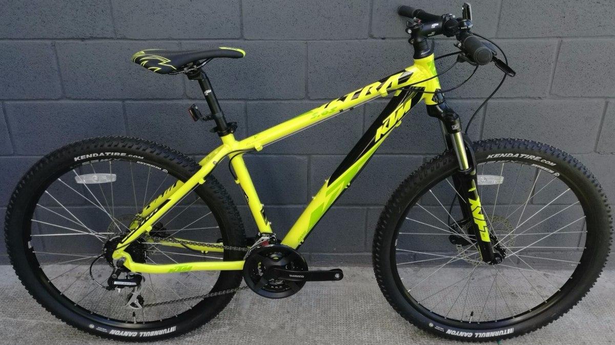 Bicicleta Ktm Ultra 5.65 Rod 27.5 24v Frenos A Disco Hidráulicos