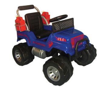 Jeep A Pedal Rodacross Explorator Equipado 3 A 7 Años