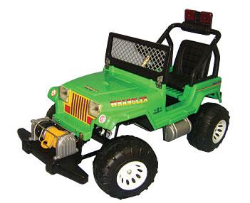 Jeep A Pedal Rodacross Wrangler Equipado 4 A 9 Años AU/032