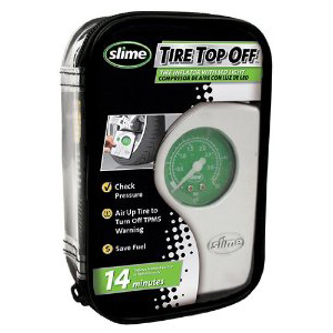 Compresor Portatil 12 Volt Slime Top Off Eco