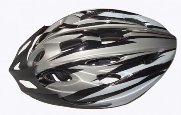 Casco Ciclista con Protección Plástica Regulable