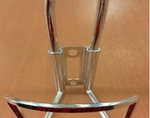 Porta Caramañola de Aluminio Natural