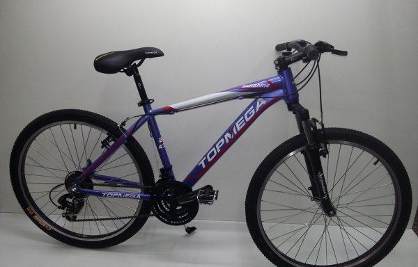 Bicicleta Top Mega Sunshine R26 21 Vel Suspension Aluminio