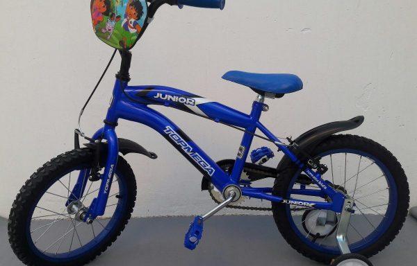 Bicicleta Rodado 16 Top Mega Junior Varon
