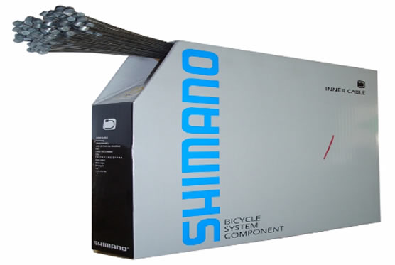 Cables de Frenos Shimano MTB Y80098520 x 100 Unidades