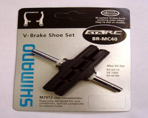 Par de Patines de Frenos Shimano BR-MC40 Y8CF98100