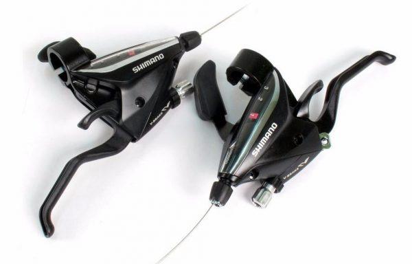 Manija de Cambios Integrada Shimano ST-EF65 3 Velocidades