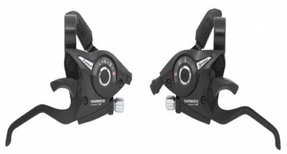Manija de Cambios Integrada Shimano ST-EF500 3 Velocidades