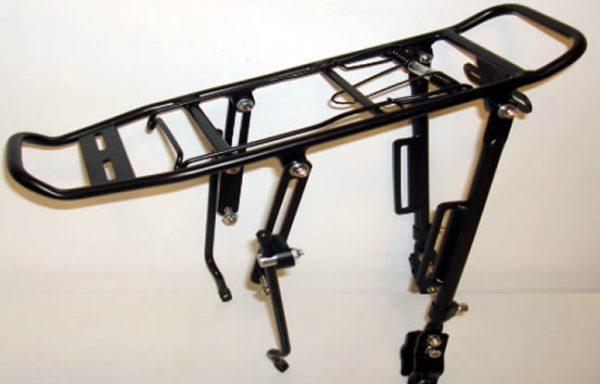 Portapaquetes de Aluminio para Bicicletas Apto para Frenos a Discos