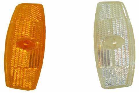Reflectores Plasticos para Rayos Naranja y Blanco