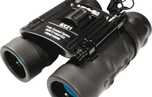Binocular Shilba Compact 10x25mm Lente Azul