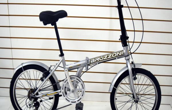 Bicicleta Plegable Rodado 20 Bruzzoni Folding 6 Velocidades