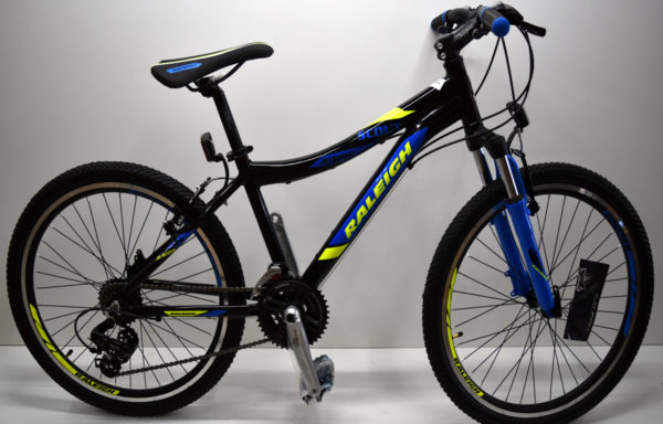 Bicicleta Raleigh Scout Rodado 24 21v Suspension Aluminio